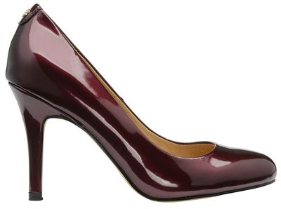 Ravel - Bordo 'Clanton' ladies high heeled court shoes