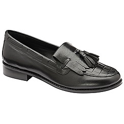 Ravel - Black 'Tilden' low heel loafers
