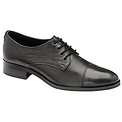 Ravel - Black 'Bethel' flat lace up shoes