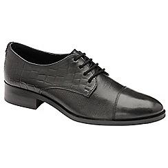 Ravel - Black 'Bethal' flat lace up shoes