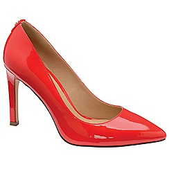 Ravel - Red 'Edson' ladies stiletto heeled court shoes