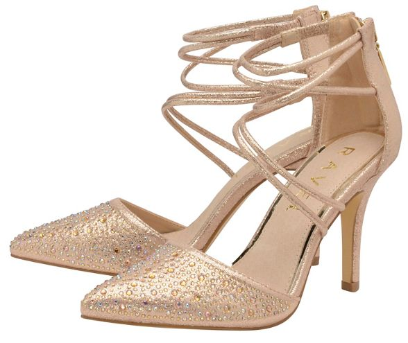 shoes stiletto Ravel Rose Gold 'Bonita' heeled q0On4aOxw