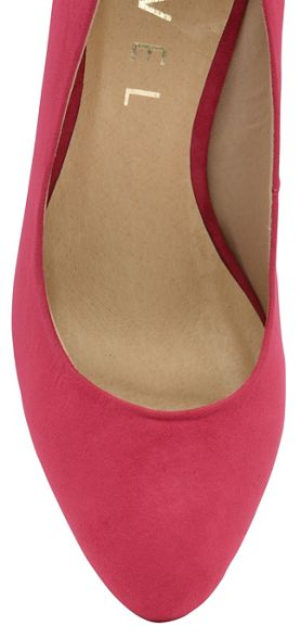 high slip on shoes heeled Ravel ladies 'Roxton' Fuchsia fRwTnqFH