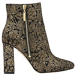 Ravel - Black 'Fenice' V&A ladies high heeled ankle boots