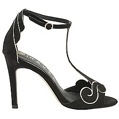 Ravel - Black 'Halle' V&A ladies high heeled shoes