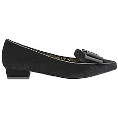 Ravel - Black 'Liceu' V&A ladies slip on shoes