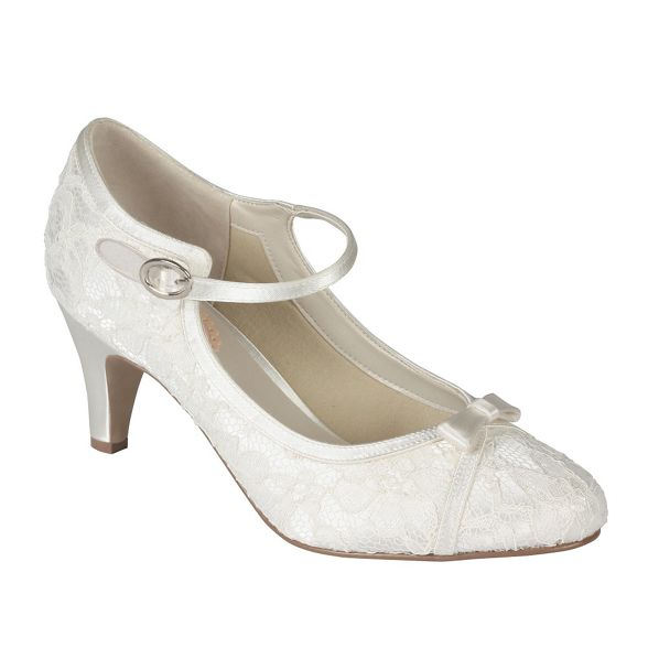 kitten London mary heel Paradox mid janes 'cupcake' by Lace Pink UZY8wEqE