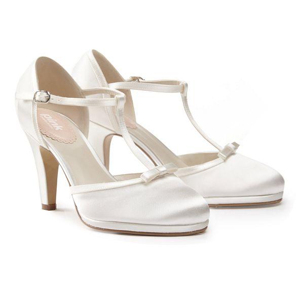'misty' by t shoes Paradox bar high London stiletto Satin Pink heel gR7IUqI