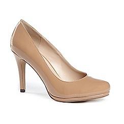 Pink by Paradox London - Patent 'emilia' high heel platform court shoes