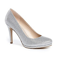 Pink by Paradox London - Glitter 'alexandra' high heel platform court shoes