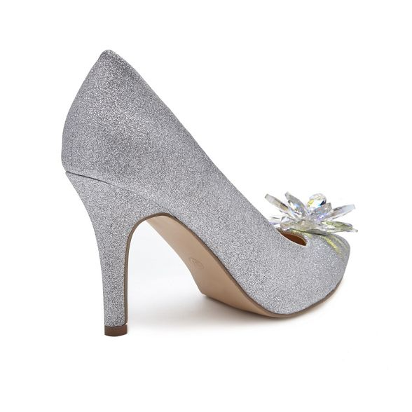 high 'Cara' court stiletto London Silver Pink shoes heel Paradox heel by za7qIX