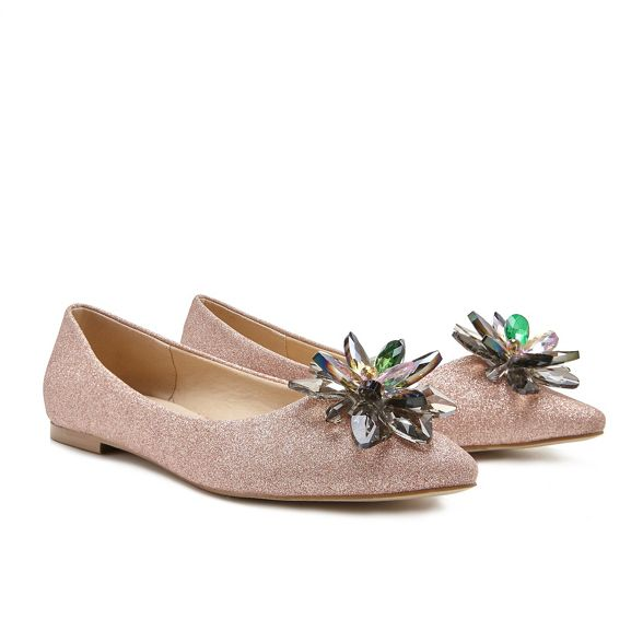 by London Pink pumps 'Florentina' Pink flat Paradox BvH4qZwC
