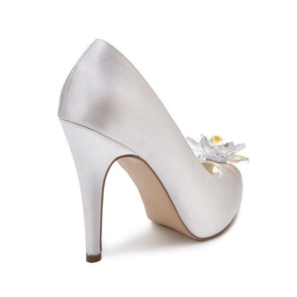 Pink toes Paradox platform 'Savannah' high London by heel peep Ivory 6faq6Brw