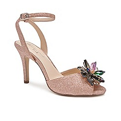 Pink by Paradox London - Pink 'Stephanie' high heel stiletto heel ankle strap sandals