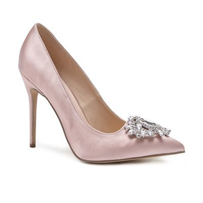Pink by Paradox London - Pink 'Cecily' high heel stiletto heel court shoes