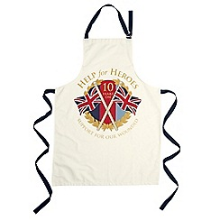 Help for Heroes - 10th Anniversary apron