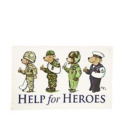 Help for Heroes - 4 Bears tea towel