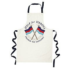 Help for Heroes - Crossed flags apron