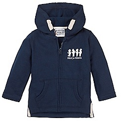 Help for Heroes - Bears in a row baby zipped hoody