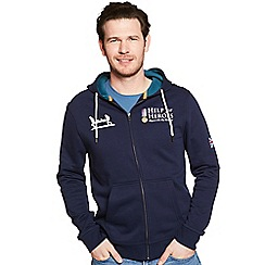 Help for Heroes - Navy classic zipped hoody