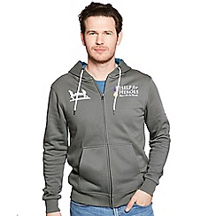 Help for Heroes - Pewter classic zipped hoody