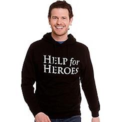 Help for Heroes - Black Pullover Unisex Hoody