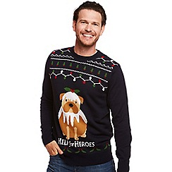 Help for Heroes - Dog christmas pudding jumper