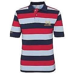 Help for Heroes - Tri colour stripe polo shirt