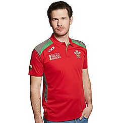 Help for Heroes - Wales rugby polo shirt