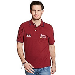 Help for Heroes - Burnt russet classic polo shirt