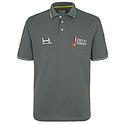Help for Heroes - Pewter classic polo shirt