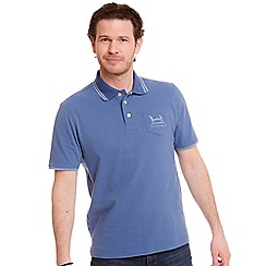 Help for Heroes - Blue Kendrew pocket polo shirt
