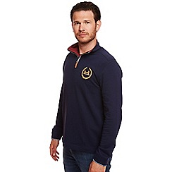 Help for Heroes - Navy Wreath logo Sweatshirt