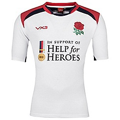 Help for Heroes - England rugby shirt