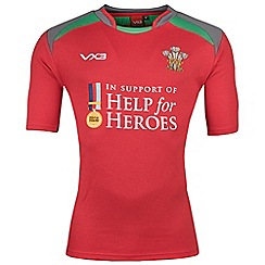 Help for Heroes - Wales rugby shirt