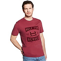 Help for Heroes - Burnt russet wessex t-shirt