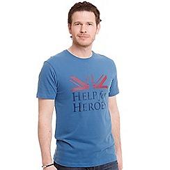 Help for Heroes - Moonlight Blue Vigour Brave t-shirt
