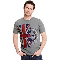 Help for Heroes - Grey Marl Challenger t-shirt
