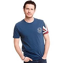 Help for Heroes - Blue Union Jack Sleeve T-Shirt