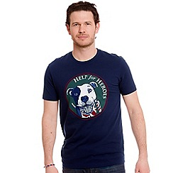 Help for Heroes - Navy Happy Staffy t-shirt
