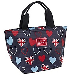 Help for Heroes - Tri-Heart Lunch Bag
