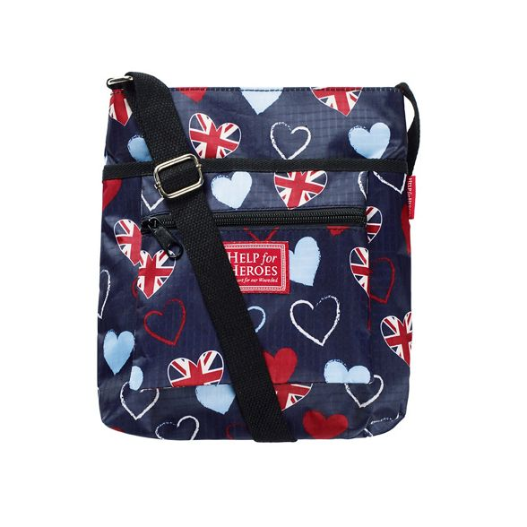 Cross Body Help Tri Bag Heroes Heart for 06Sp7