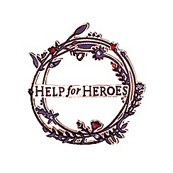 Help for Heroes - Willow Wreath Brooch
