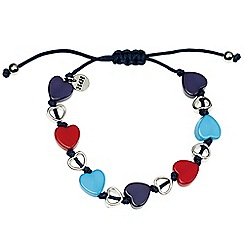 Help for Heroes - Heart Charms Bracelet
