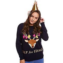 Help for Heroes - Reindeer christmas jumper