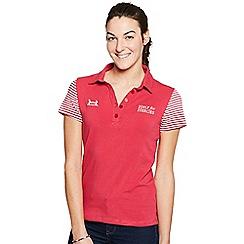 Help for Heroes - Raspberry charlotte polo shirt
