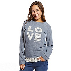 Help for Heroes - Love lace sweatshirt