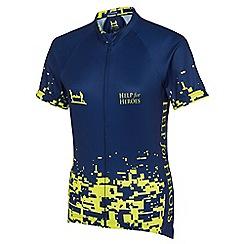 Help for Heroes - Women's fluro pixel cycling shirt