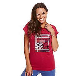 Help for Heroes - Pink Patterned T-Shirt
