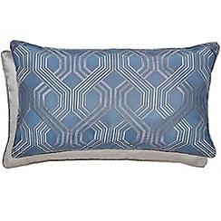 Hotel - Dark blue polyester 'Amara' cushion